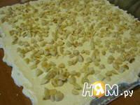 Приготовление торта без выпечки Рафаэлло: шаг 4