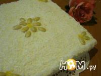 Приготовление торта без выпечки Рафаэлло: шаг 5