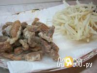 Приготовление салата с уткой: шаг 1