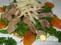 Приготовление салата с уткой: шаг 2