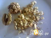 Приготовление десерта из тыквы с хурмой: шаг 6