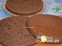 Приготовление шоколадного торта с орехами: шаг 5