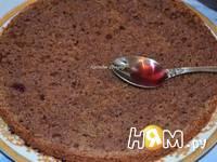Приготовление шоколадного торта с орехами: шаг 7