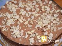 Приготовление шоколадного торта с орехами: шаг 8