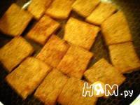 Приготовление закуски с сельдью, перцем и сыром: шаг 2