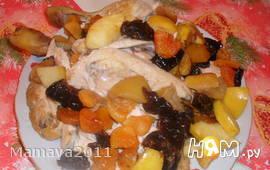 Фаршированная курица к Празднику