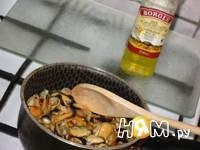 Приготовление маринованных мидий с лимоном: шаг 1