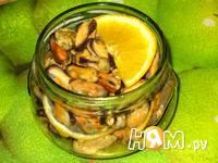 Приготовление маринованных мидий с лимоном: шаг 4