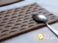Приготовление пряничного домика: шаг 4