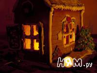 Приготовление пряничного домика: шаг 8