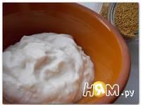 Приготовление домашнего майонеза без яиц: шаг 6