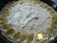 Приготовление творожного пирога: шаг 9