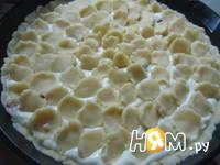 Приготовление творожного пирога: шаг 10