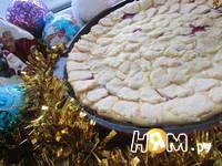 Приготовление творожного пирога: шаг 11