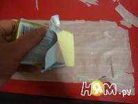 Приготовление хрустящих конвертиков сшоколадом: шаг 2