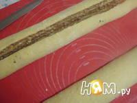 Приготовление калача с орехово-маковой начинкой: шаг 6