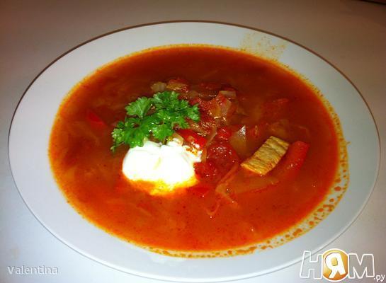 Суп по-венгрески