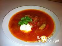 Приготовление супа с помидорами и болгарским перцем: шаг 5
