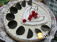 Приготовление чизкейка с фруктами: шаг 4