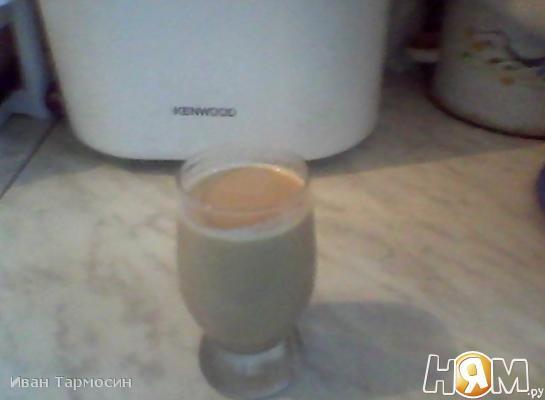 Кофейный молочный коктейль