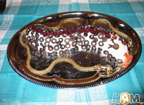 Рецепт Змея удачи