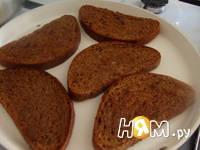Приготовление бутербродов с шампиньонами: шаг 2