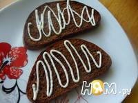 Приготовление бутербродов с шампиньонами: шаг 7