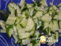 Приготовление салата Ирина: шаг 5