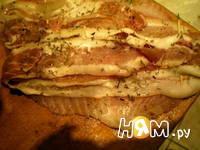 Приготовление рыбы с беконом: шаг 3