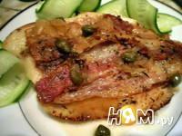 Приготовление рыбы с беконом: шаг 9
