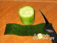 Приготовление салата с копченой курицей и сыром: шаг 1