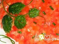 Приготовление салата с копченой курицей и сыром: шаг 6
