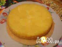 Приготовление шарлотки со свежими ананасами: шаг 7