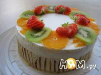 Приготовление торта с суфле: шаг 9
