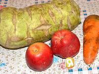 Приготовление салата из капусты кольраби: шаг 1