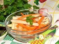 Приготовление салата из капусты кольраби: шаг 5