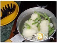 Приготовление пюре из цветной капусты: шаг 2