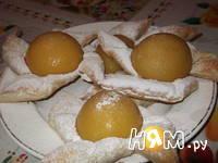 Приготовление слоек с персиками: шаг 7