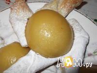 Приготовление слоек с персиками: шаг 8