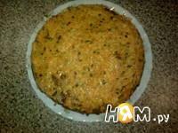 Приготовление печеночного торта: шаг 2