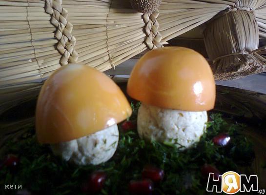 Творожные грибочки
