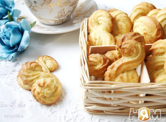 Кукурузно-апельсиновое печенье