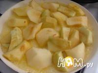 Приготовление тыквенного пирога с яблоками: шаг 9