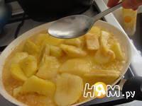 Приготовление тыквенного пирога с яблоками: шаг 10