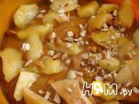Приготовление тыквенного пирога с яблоками: шаг 11