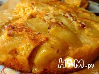 Приготовление тыквенного пирога с яблоками: шаг 13