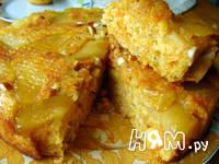 Приготовление тыквенного пирога с яблоками: шаг 14