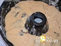 Приготовление медового пирога с черносливом и орехами: шаг 4