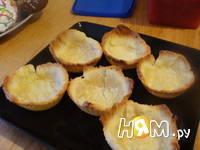Приготовление корзиночек с ягодами: шаг 3