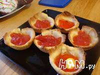 Приготовление корзиночек с ягодами: шаг 5